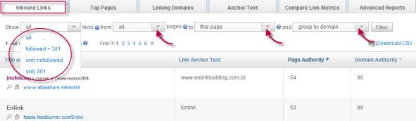 Open Site Explorer – Análise de links e seus diferenciais