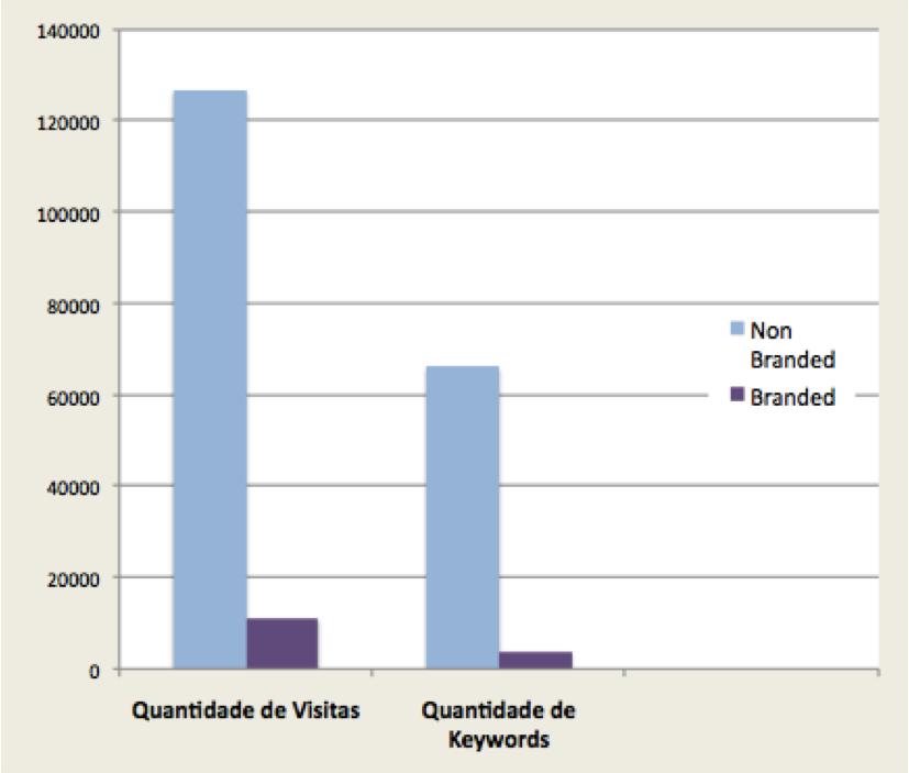 Palavras-Chave Branded vs Non-Branded