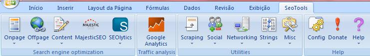 SeoTools para Excel